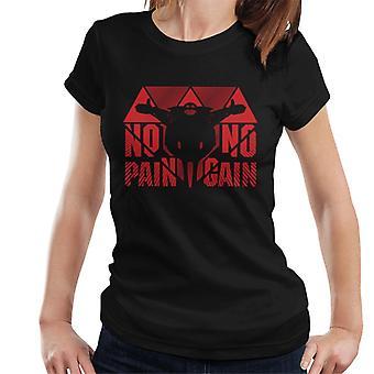 Sonic The Hedgehog No Pain No Gain Eggman Women's T-Shirt