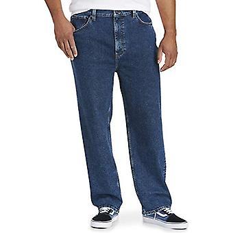 Essentials Men's Big & Tall Loose-fit Stretch Jean fit by DXL, Medium ...
