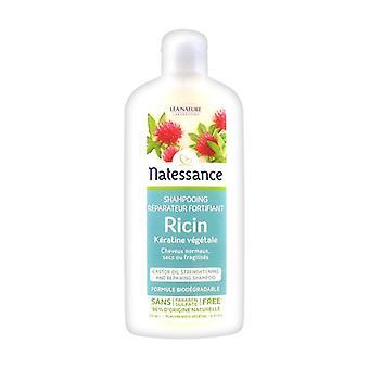 Shampooing réparateur fortifiant Ricin et Kératine végétale 250 ml