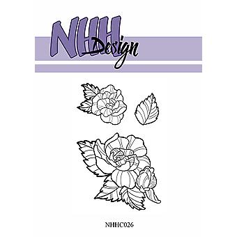 NHH Design Flower 4 Clear Stamps