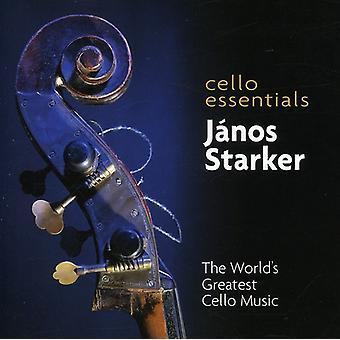 Janos Starker - Cello Essentials: The World's Greatest Cello Music [CD] USA import