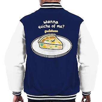 Gudetama ønsker at Quiche Af Mig Men's Varsity Jacket