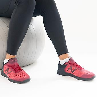 New Balance Minimus Prevail Ladies Knitted Trainers Punainen/musta