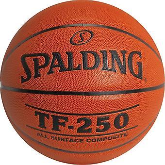 BA414P, Spalding TF250 Composite Basketball - Intermédiaire