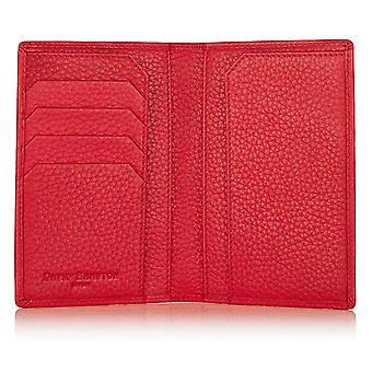Poppy Red Richmond läder pass plånbok