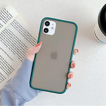Stuff Certified® iPhone XS Max Bumper Case Cover Silikoni TPU Anti-Shock Vihreä