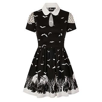 Banned alt - drew - cold shoulder dress