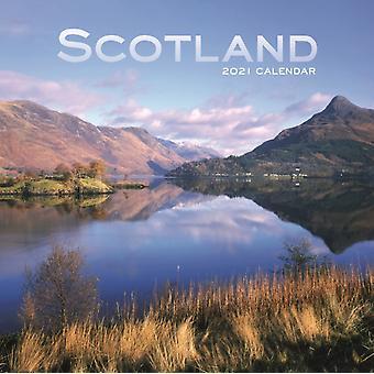 Scotland Mini Square Wall Calendar 2021