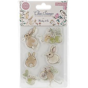 Craft Consortium A5 Clear Stamps-English Garden