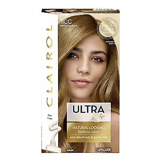 Clairol Ultra Lift Hair Colour Permanent Natural Looking Cool Blonde 11CC up to 3 levels lighter