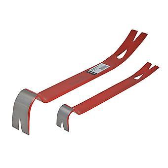 Hultafors Wrecking Bar 525mm (21in) & Mini Bar Set HUL10821PK
