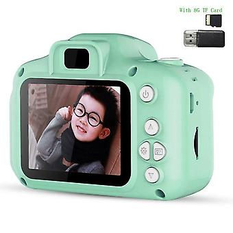 Mini Camera Kids, 2 Inch Hd Screen, Digital Video Recorder, Camcorder, Language