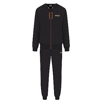 EA7 Men's Black Ventus 7 Tracksuit