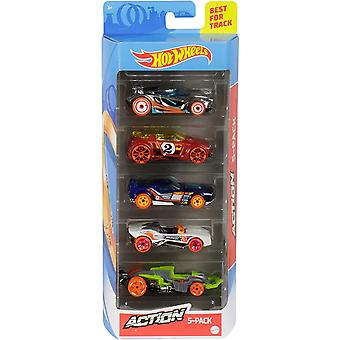 Hot Wheels 5 Cars Giftpack - Colour and Style May Vary