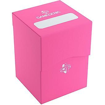 Porta-baralho gamegênico de 100 cartas - Rosa