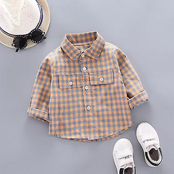 Kids Shirt Clothes Spring Thin Blouses Clothing Infant Plain Cotton Tops For 1