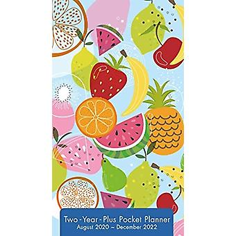 2021 Citrus Delights TwoYearPlus Pocket Planner by Inc Sellers Publishing