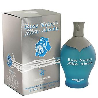 Rose noire absolu eau de toilette spray by giorgio valenti 464099 100 ml