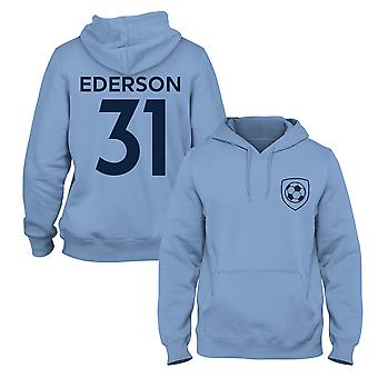 Ederson 31 Man City Style Player Football Hoodie