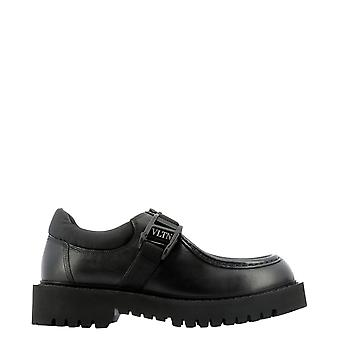 Valentino Garavani Uy0s0d89ybh0no Men's Black Leather Monk Strap Schoenen