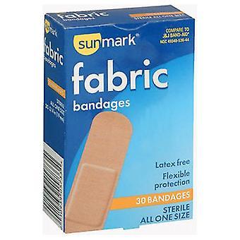 Sunmark Sunmark Fabric Bandages, All One Size 30 each