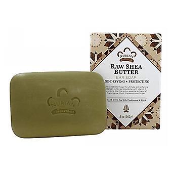 Nubian Heritage Bar Soap, Raw Shea Butter, 5 Oz