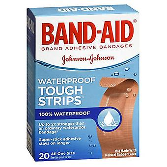 Band-Aid Tough-Strips Waterproof Bandages, 20 each