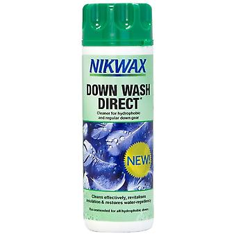 Nikwax Clear Down Wash Direct 300ml Down Garment Cleaner