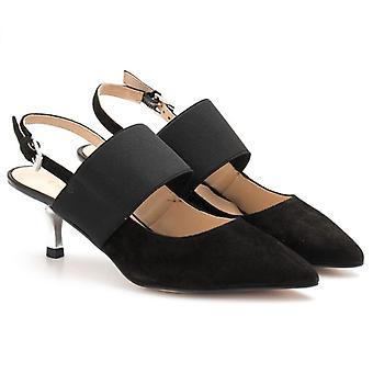Chanel Carmens Demi J In Black Suede