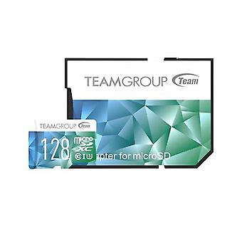 بطاقة الألوان TEAM II مايكرو SDHC UHS-1 U3 90/45 R/W