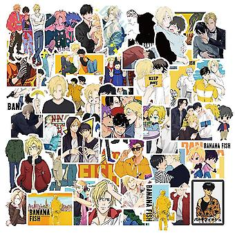 Anime Banana Fish Stickers voor briefpapier, laptop, skateboard, waterfles,