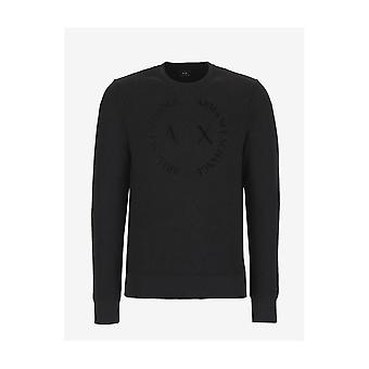 ARMANI EXCHANGE Polyester Black Sweatshirt