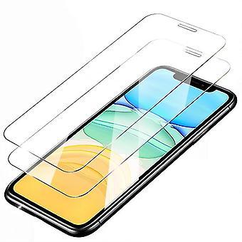 2pcs gehärtetes Glas iPhone 12 Mini - Bildschirmschutz