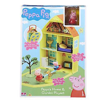 Peppa Pig Peppa's Huis + Tuin