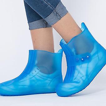 Bottes en caoutchouc en pvc imperméables, couvercle de chaussures d'eau antidérapante