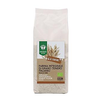 Wholemeal soft wheat flour None
