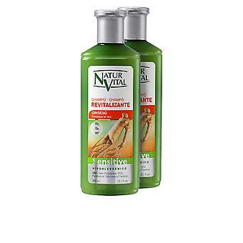 Natur Vital Champú Sensitive Revitalizante Set 2 X 300 Ml Unisex