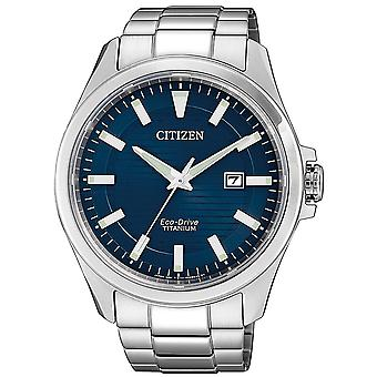 Mens Watch Citizen BM7470-84L, Quartzo, 43mm, 10ATM