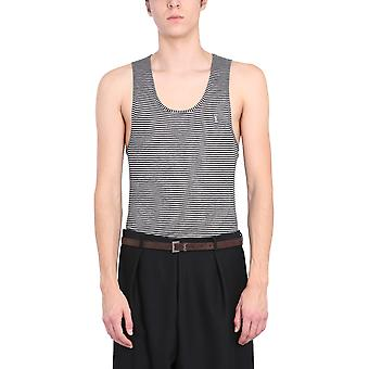 Saint Laurent 646082y36bc1058 Men's Grey Viscose Top