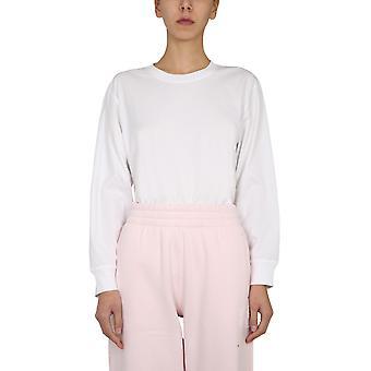 Alexander Wang.t 4cc1201151100 Women's White Cotton T-shirt