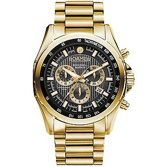 Roamer 220837 48 55 20 Rockshell Mark III Black Dial Chronograph Wristwatch