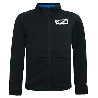 Puma Style Hooded Sweat Jacket Mens Zip Up Hoody Jumper Top Black 853567 01
