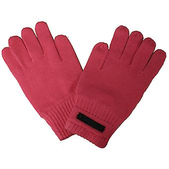 Puma Knitted Unisex Mens Womens Wooly Acrylic Shaw Gloves Pink 040661 02 A187C