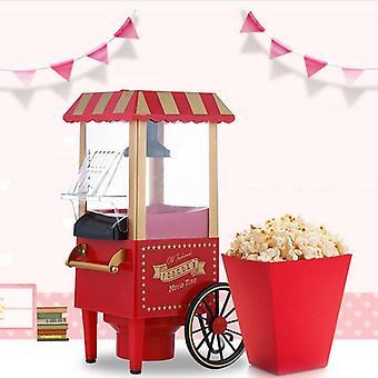 Popcorn gép, kis mini elektromos karnevál kukorica készítés háztartási, Diy