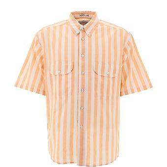 Levi's 184410002 Männer's Orange Baumwollhemd