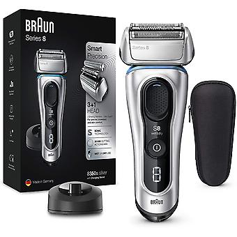 Braun Series 8 8350s Next Generation Electric Shaver with Charging Stand