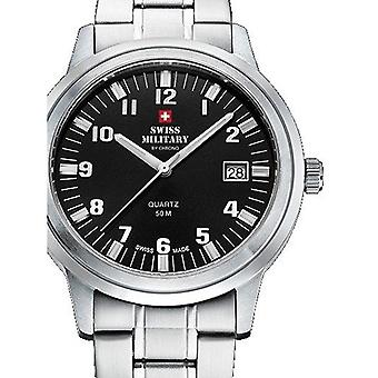 Mens Watch Swiss Military By Chrono SMP36004.06, Quartz, 40mm, 5ATM