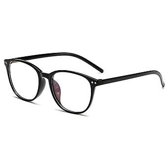 Ultralight Anti-blue Light, Myopia Glasses, Round Frame & Women