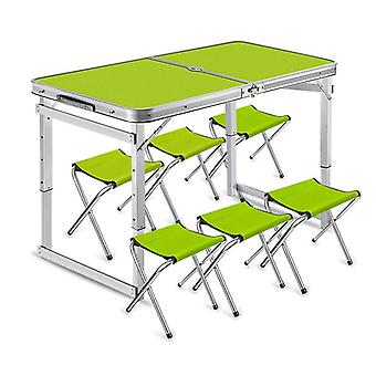 Folding Table Stall Portable Outdoor Home Simple Dining Chair Push Small