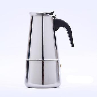 Stainless Steel Moka Coffee Maker Italian Top Espresso Latte Stovetop Coffee